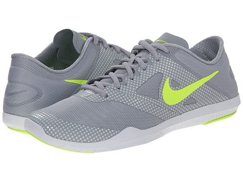Nike - Studio Trainer 2 Print (Wolf Grey/Pure Platinum/White/Volt) Women's Cross Training Shoes