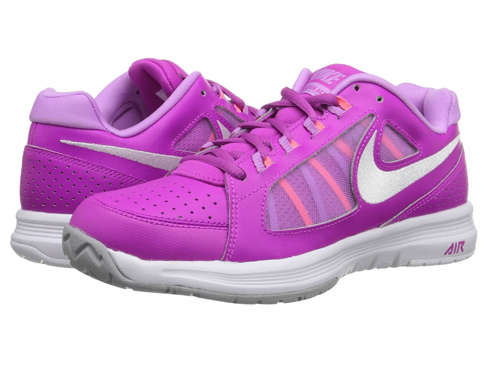 Nike - Air Vapor Ace (Fuchsia Flash/Fuchsia Glow/Hot Lava/White) Women's Tennis Shoes
