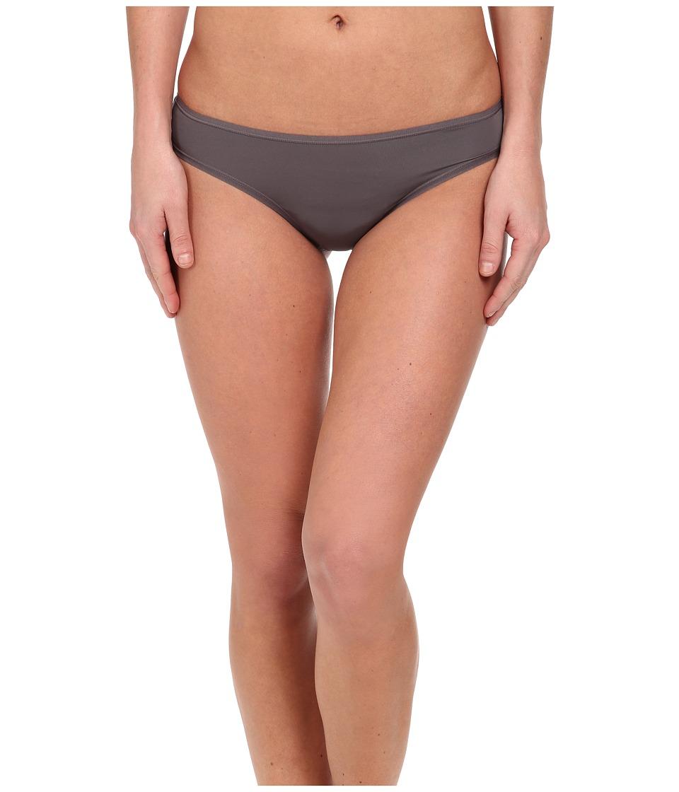 Natori - Bliss Fit Thong (Gunmetal) Women's Underwear