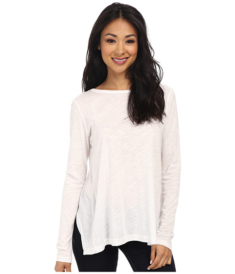 LNA - Kissell L/S Tee (White) Women's T Shirt
