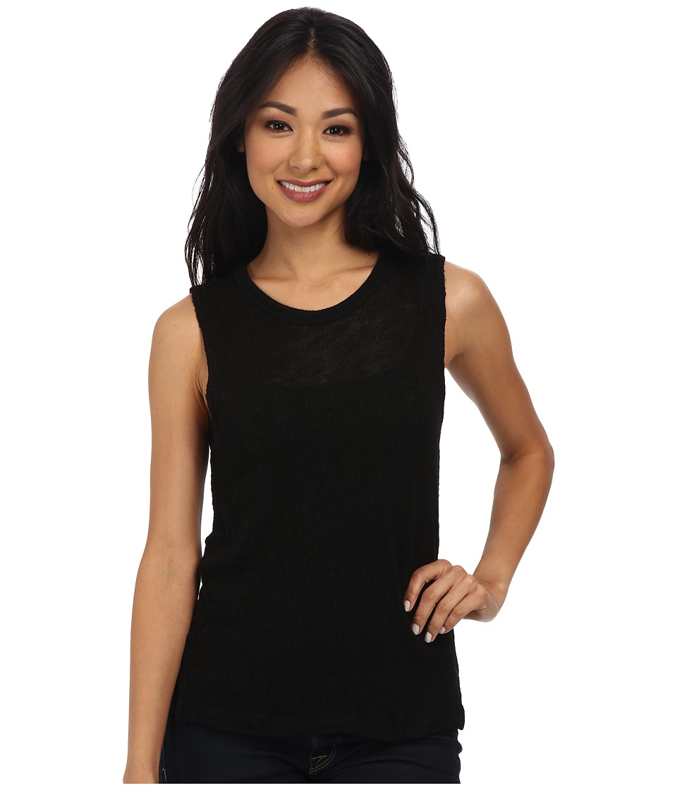 LNA - Coronado Tank Top (Black) Women's Sleeveless