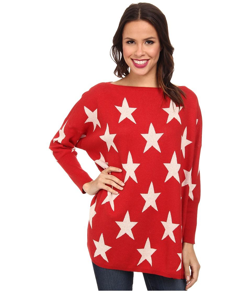 Tasha Polizzi - Star Sweater (Crimson) Women