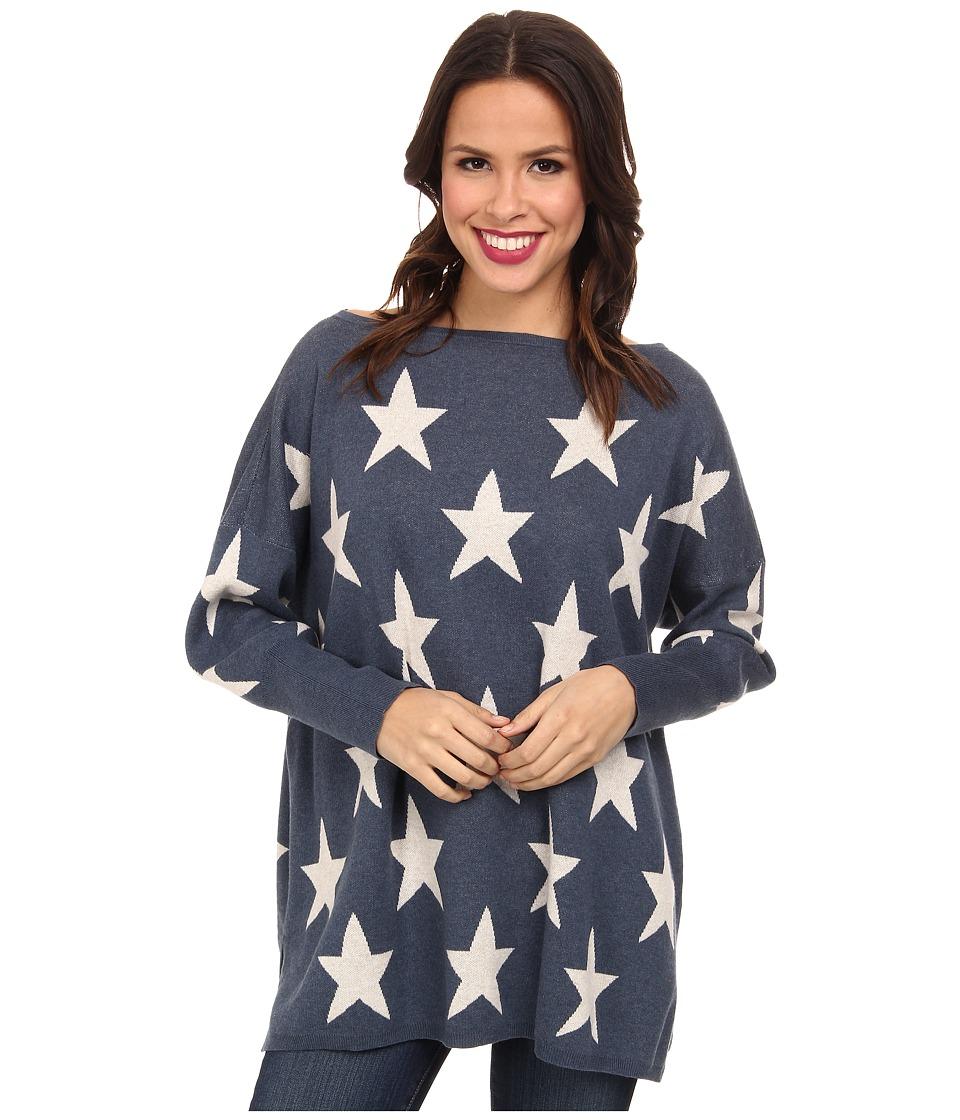 Tasha Polizzi - Star Sweater (Indigo) Women's Sweater