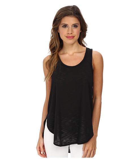 LNA - Skinny Curve Tank Top (Black) Women's Sleeveless