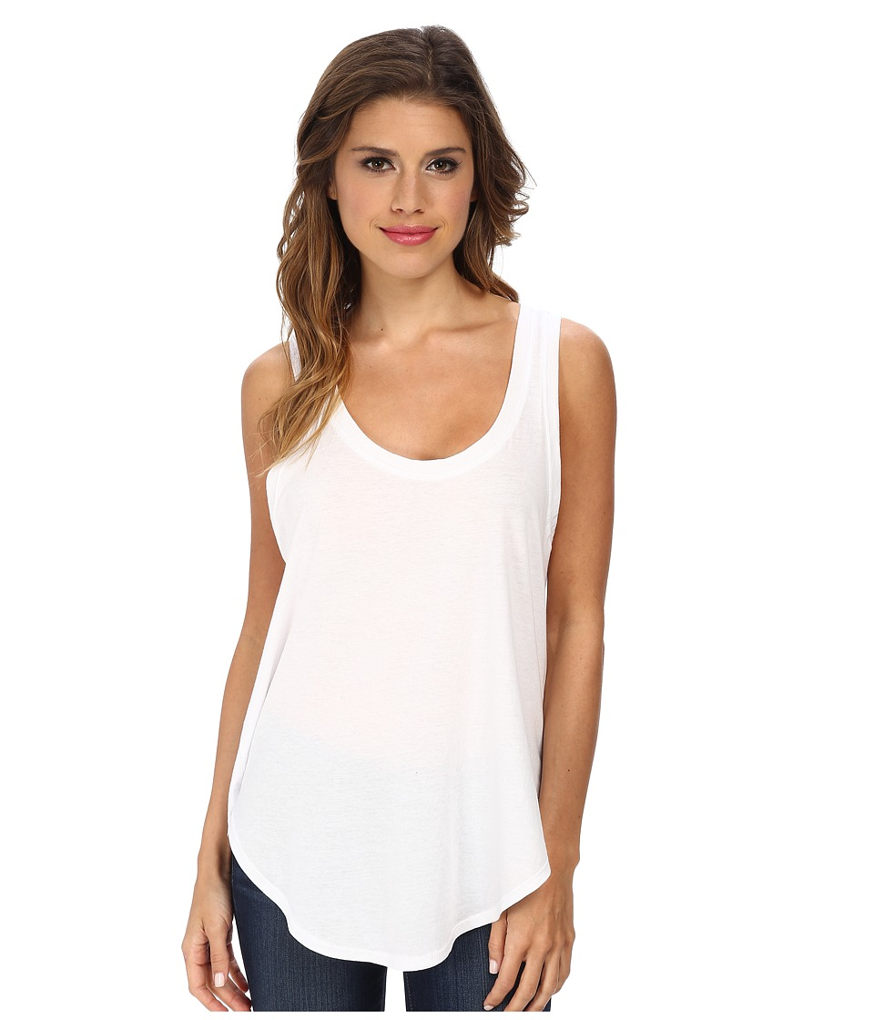 LNA - Tulum Tank Top (White) Women's Sleeveless