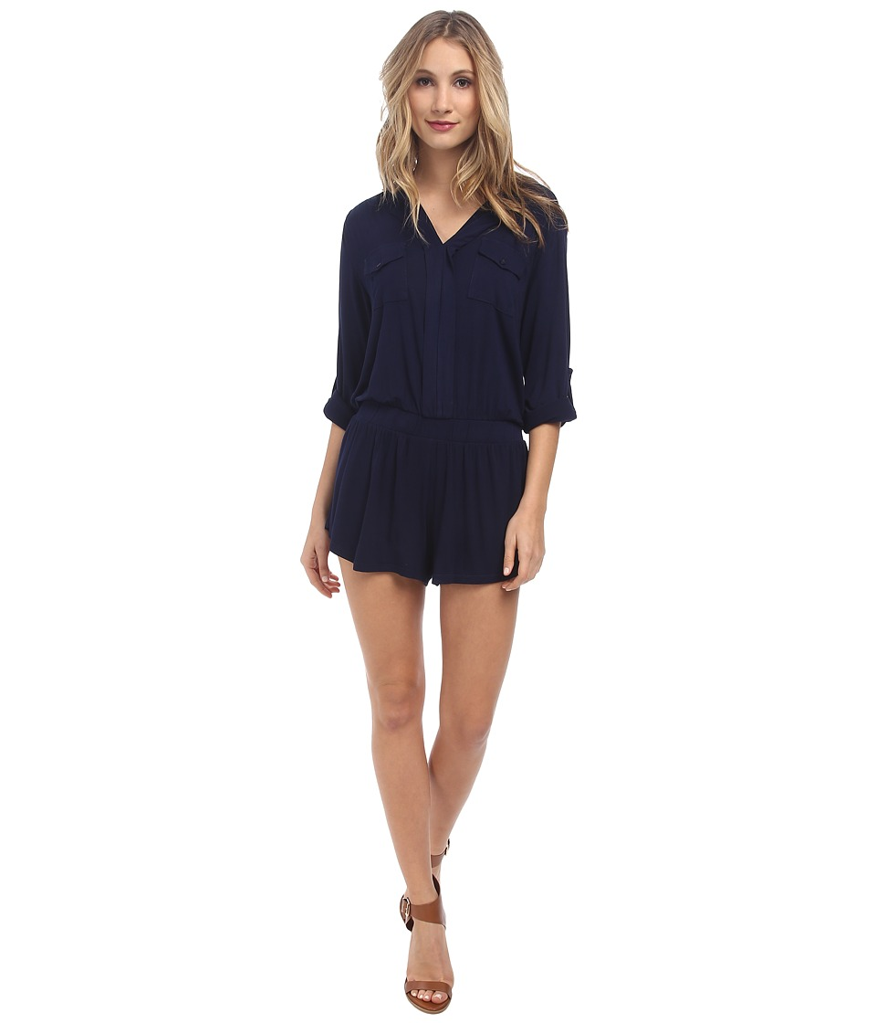 Young Fabulous & Broke - Malik Romper (Navy) Women