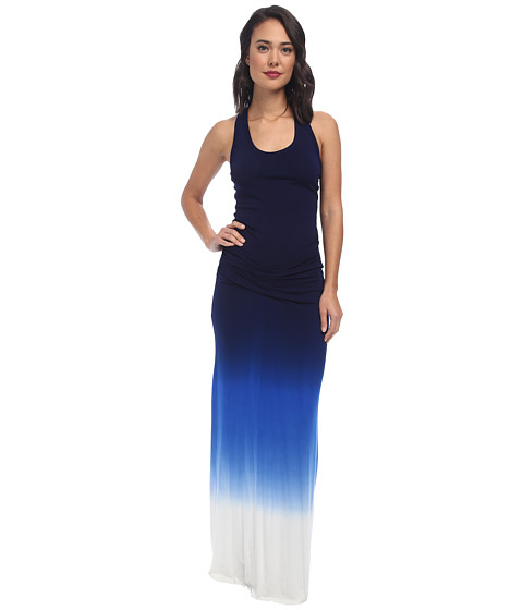 Young Fabulous & Broke - Hampton Maxi (Navy Blue Ombre) Women's Dress