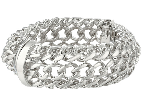 Kenneth Jay Lane - 8463BPS Bracelet (Polished Silver) Bracelet