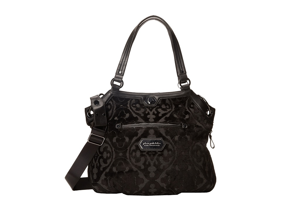 petunia pickle bottom - Cut-Velvet Halifax Hobo (Black Velvet Trifle Cake) Hobo Handbags