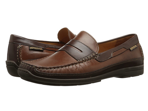Mephisto - Tim (Chestnut/Dark Brown) Men's Shoes