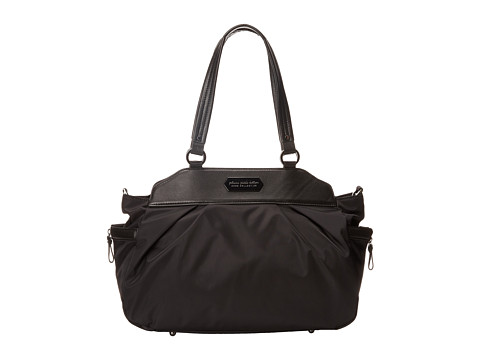 petunia pickle bottom - Nylon Skyline Satchel (Black Chai Tea Cake) Satchel Handbags