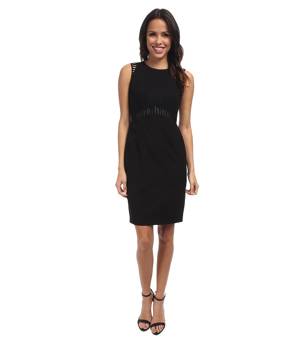Calvin Klein - Lux Cutout Sheath CD4X1289 (Black) Women's Dress