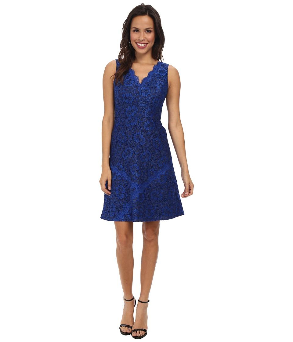 Calvin Klein - A-Line Lace CD4L1221 (Celestial) Women's Dress