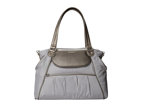 Skip Hop - Studio Select day-to-night Diaper Satchel (Pewter Dot) Diaper Bags