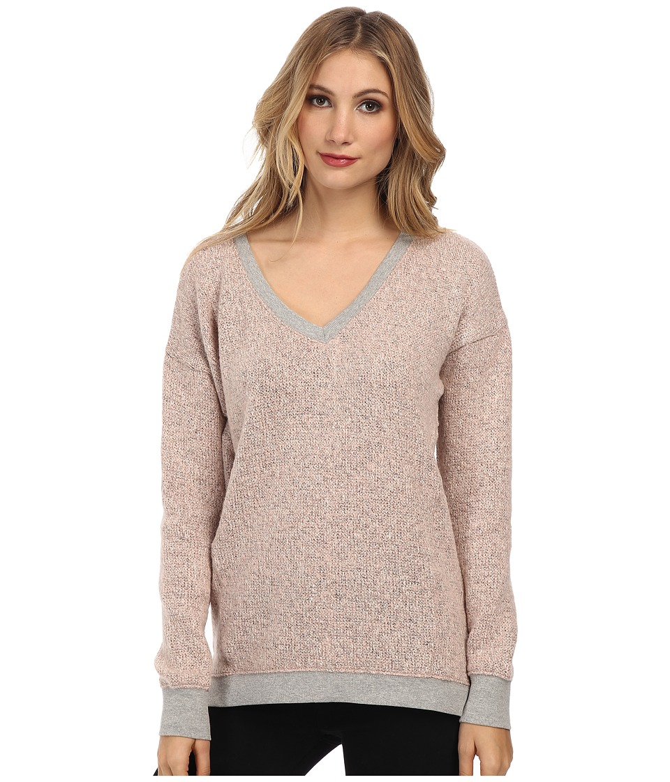 Sanctuary - Marled Sweater Knit (Powder Pink) Women's Sweater