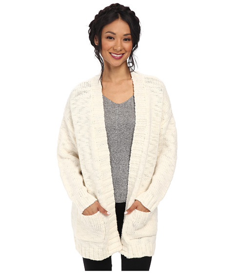 Sanctuary - Lodge Cardi (Winter White) Women's Sweater