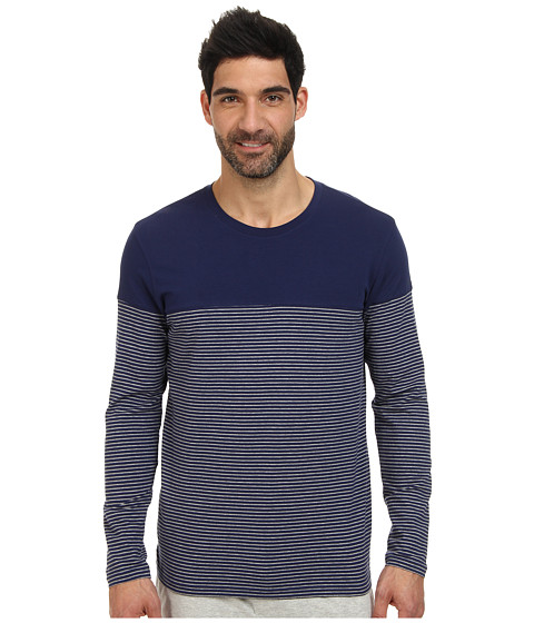 BOSS Hugo Boss - Innovation 9 Shirt Round Neck L/S (Open Blue) Men's Clothing