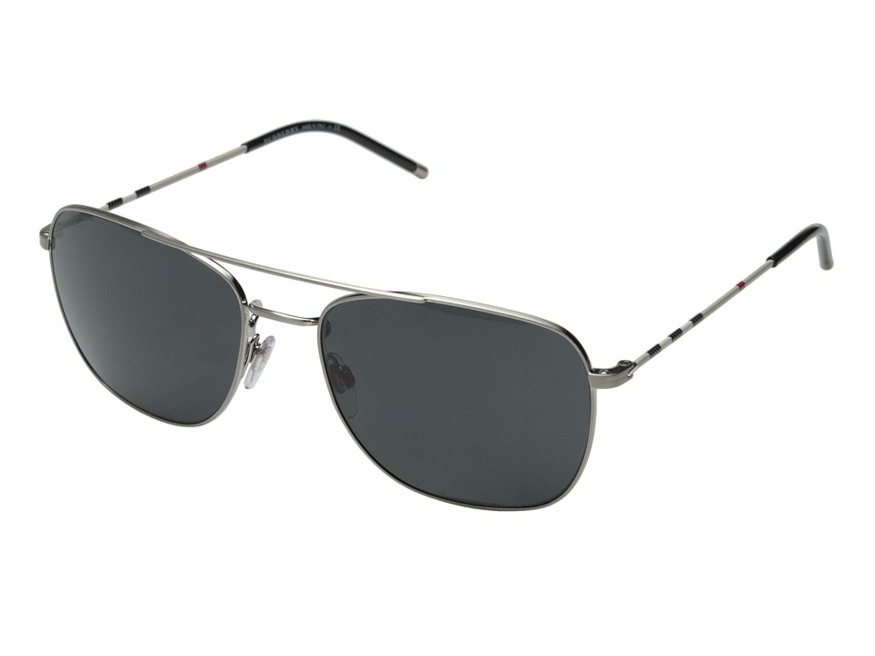 Burberry - 0BE3079 (Ivory/Grey) Fashion Sunglasses