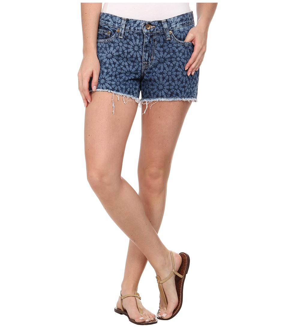 Big Star - Alex Fray Short in Indigo Mosaic (Indigo Mosaic) Women's Shorts