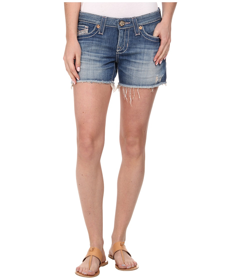 Big Star - Remy Fray Hem Short in Riviera (Riviera) Women's Shorts