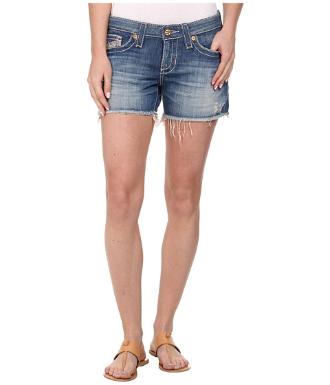 Big Star - Remy Fray Hem Short in Riviera (Riviera) Women
