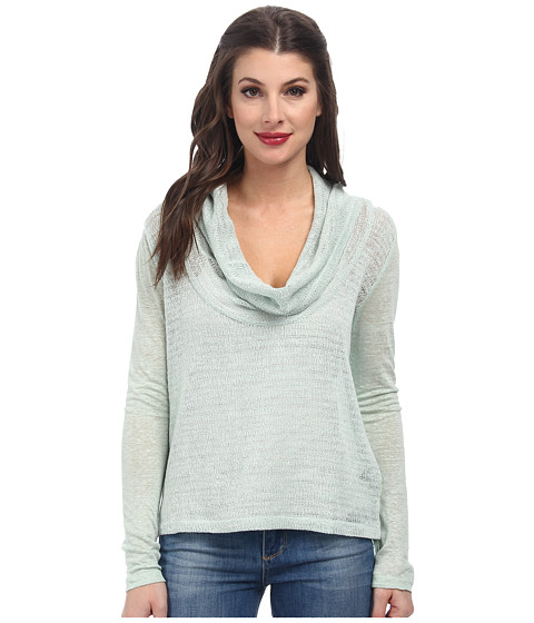 Sanctuary - Holiday in the Sun Cowl (Winter Mint) Women's Long Sleeve Pullover