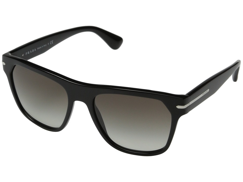 Prada - 0PR 03RS (Black/Grey Gradient) Fashion Sunglasses