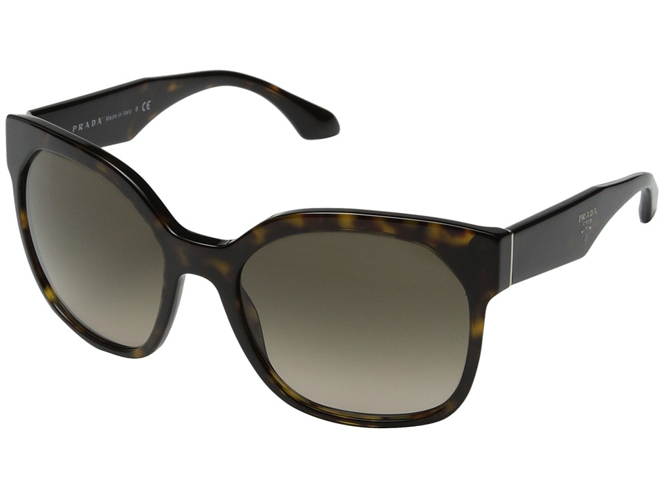 Prada - 0PR 10RS (Havana/Grey Gradient) Fashion Sunglasses