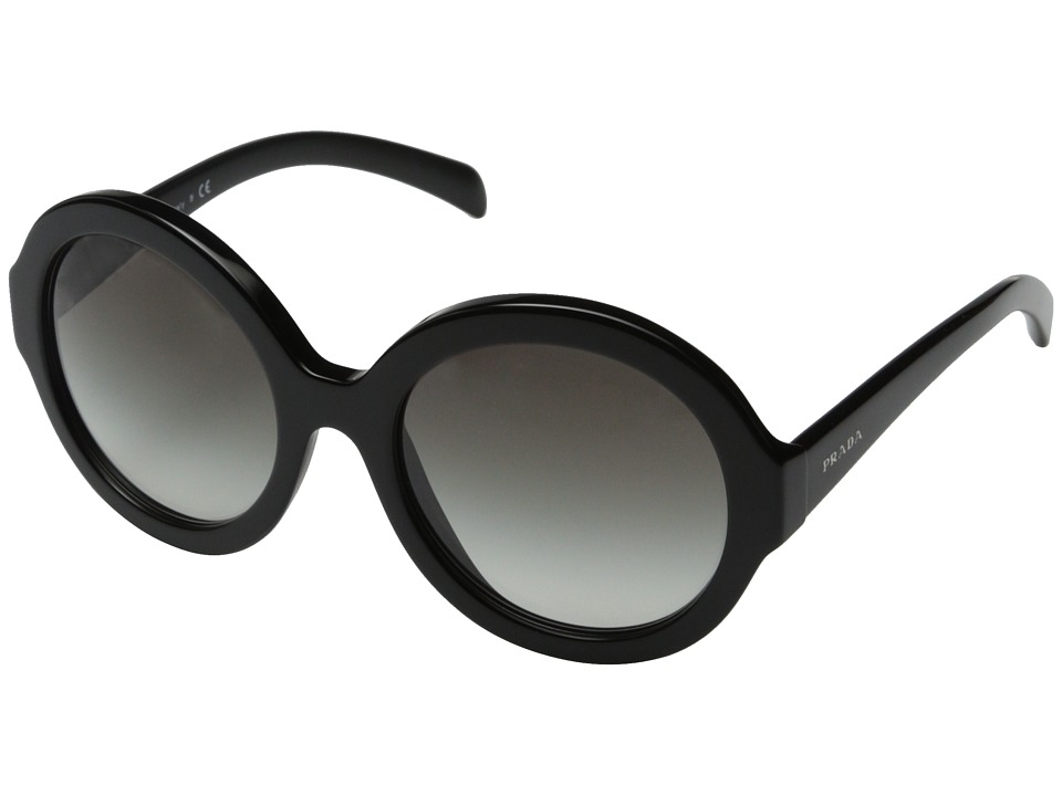 Prada - 0PR 06RS (Black/Grey Gradient) Fashion Sunglasses