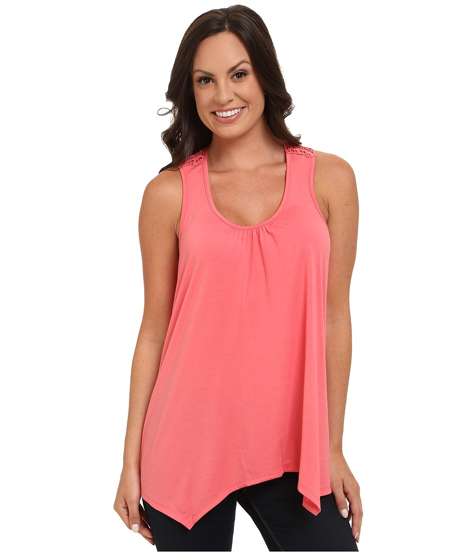 Stetson - 9704 Coral Knit Tank (Red) Women's Sleeveless
