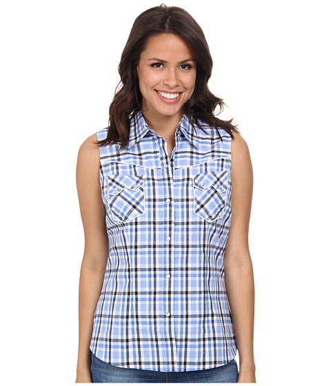 Roper - 9544 Blue Chip Check (Blue) Women
