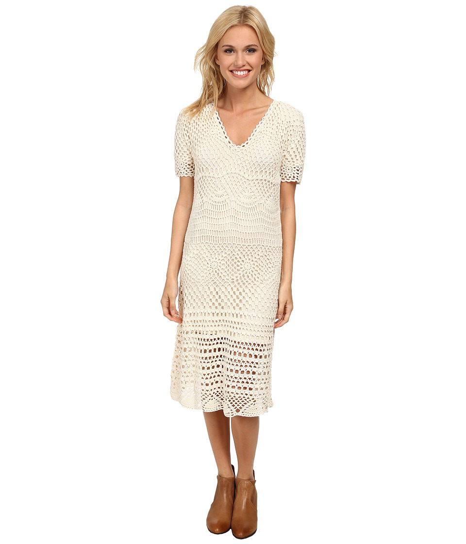 Stetson - 9616 Crochet Lace Dress (White) Women