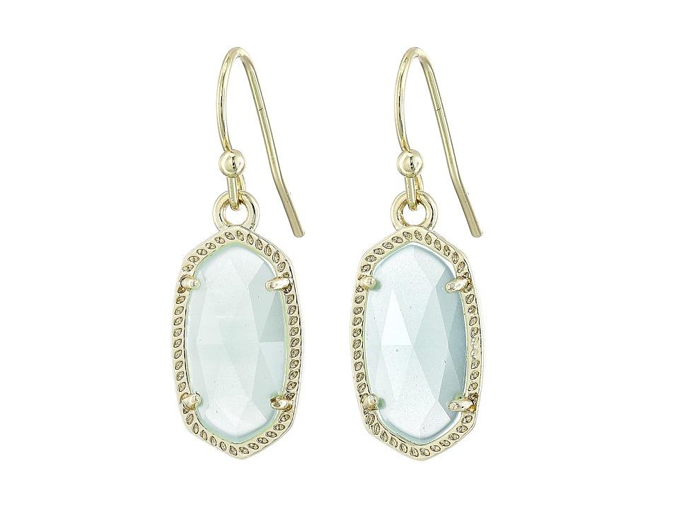 Kendra Scott - Lee Earring (Gold/Chalcedony) Earring