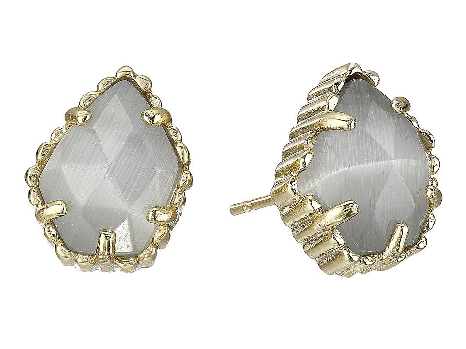 Kendra Scott - Tessa Earring (Gold/Slate) Earring