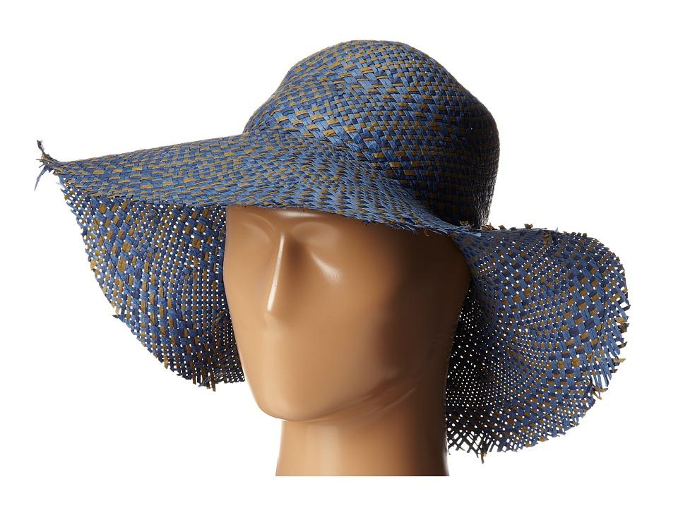 BCBGMAXAZRIA - Multi Floppy Hat (Light Chambray) Traditional Hats
