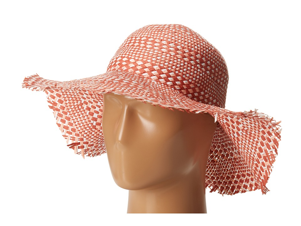 BCBGMAXAZRIA - Multi Floppy Hat (Dusty Pink) Traditional Hats