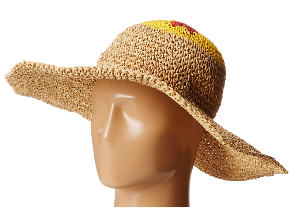 BCBGMAXAZRIA - Emoji Floppy Hat (Natural) Traditional Hats