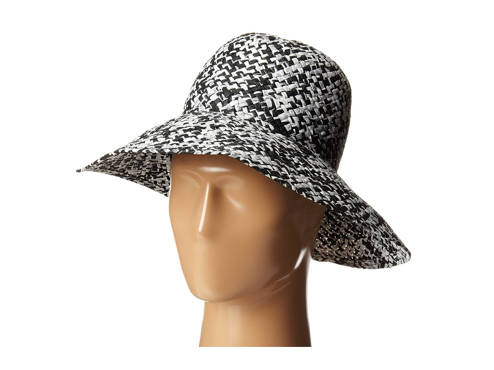BCBGMAXAZRIA - High Crown Floppy Hat (Whte) Caps