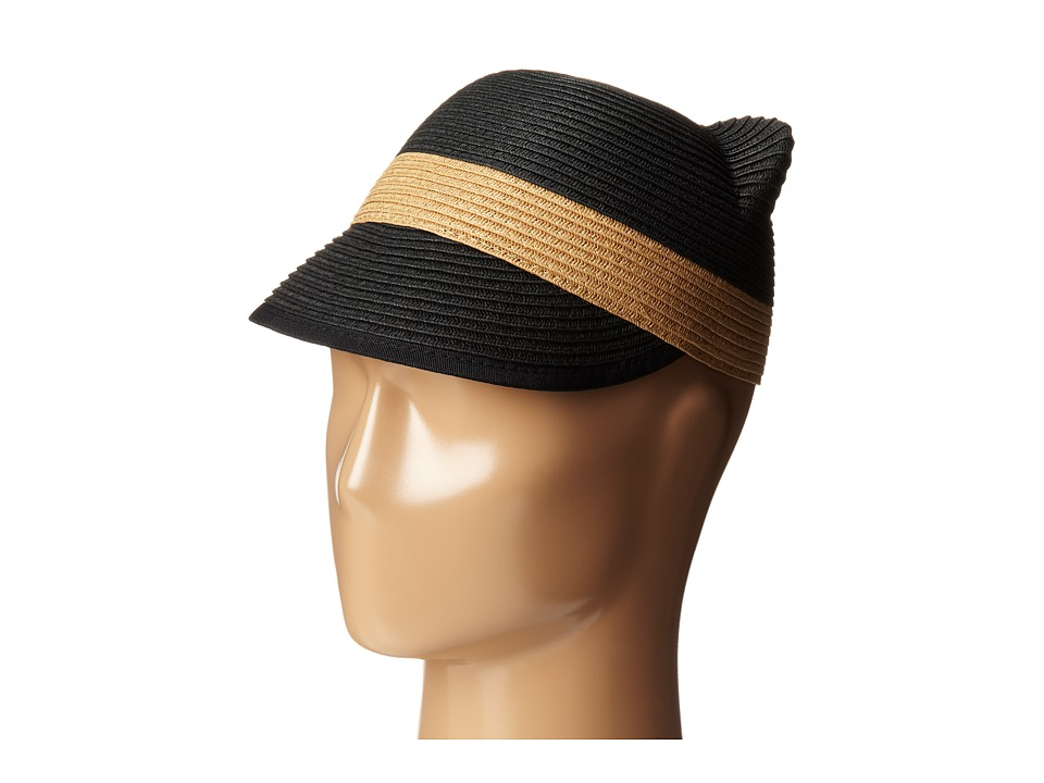 BCBGMAXAZRIA - Kitty Cap (Black) Caps