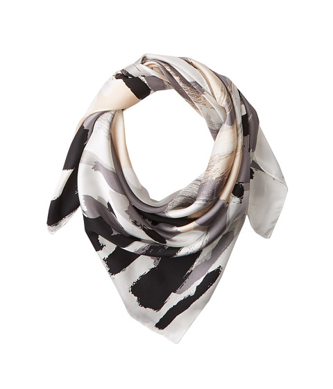 BCBGMAXAZRIA - Art House Square Scarf (Black) Scarves