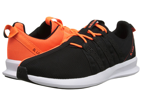 adidas Originals - SL Loop Racer 2.0 (Black/Black/Solar Orange) Men