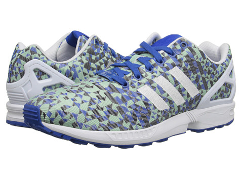 adidas Originals - ZX Flux Weave (Blue/White/Black) Men's Running Shoes