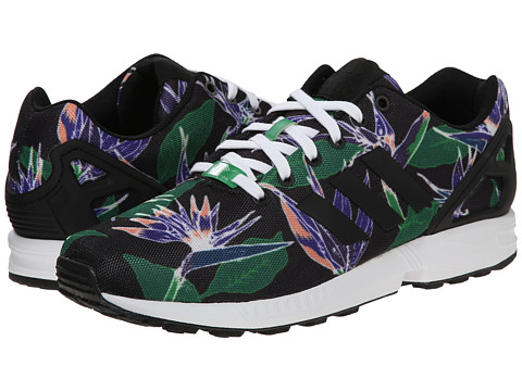 adidas Originals - ZX Flux Photoprint (Black/White/Black) Men's Running Shoes