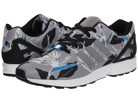 adidas Originals - ZX Flux Photoprint (Light Onix/White/Black) Men's Running Shoes