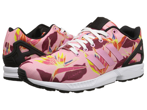 adidas Originals - ZX Flux Photoprint (Light Pink/White/Black) Men's Running Shoes