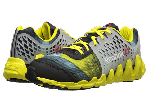 Reebok Kids - ZigTech Big N Fast EX (Big Kid) (Black/Bright Yellow) Boys Shoes