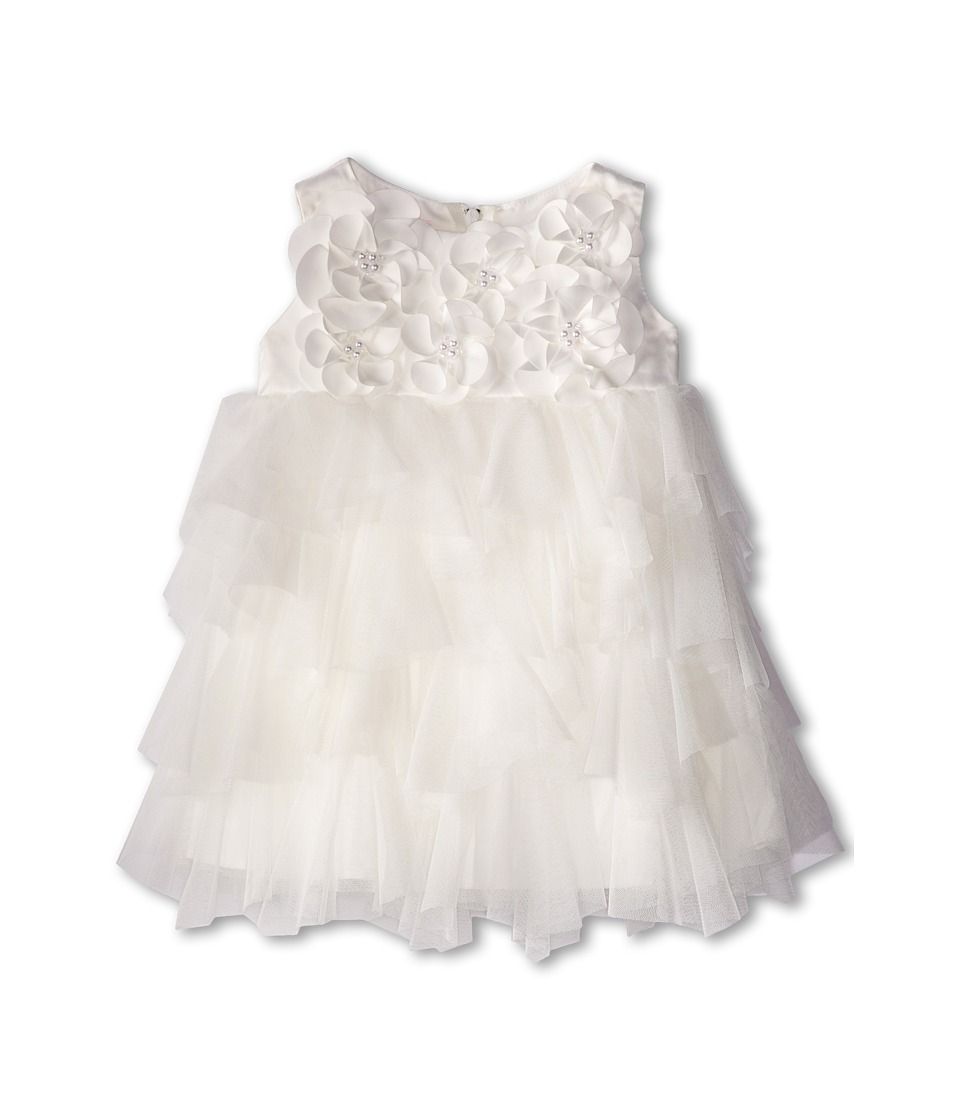 Biscotti - Cr me De La Cr me Sleeveless Dress (Infant) (Ivory) Girl