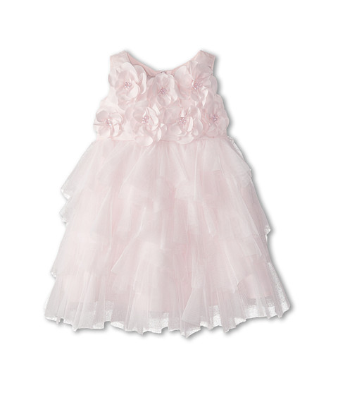 Biscotti - Cr me De La Cr me Sleeveless Dress (Toddler) (Pink) Girl