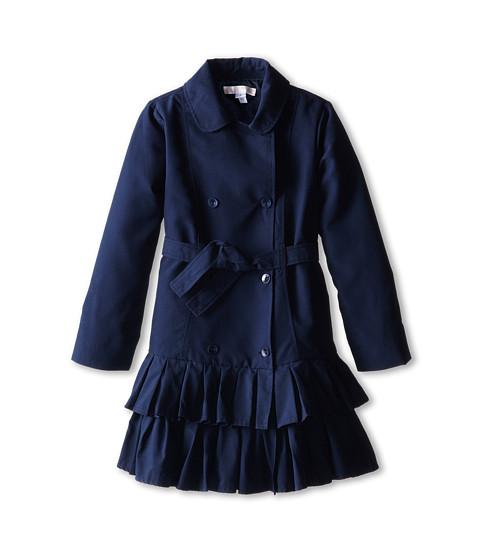 Biscotti - Essential Trench Coat (Big Kids) (Navy) Girl's Coat
