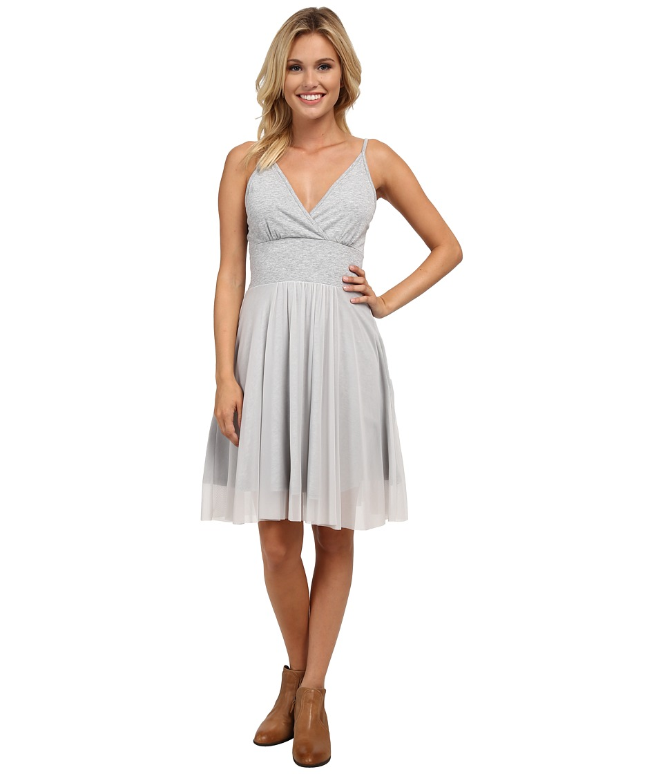 Roper 9752 Lt. Wt. Heather Jersey Sun Dress (Grey) Women